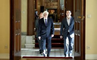 Ο Τσίπρας στον Παυλόπουλο για την προκήρυξη εθνικών εκλογών