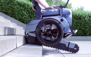 Το αναπηρικό καροτσάκι που ανεβαίνει σκάλες