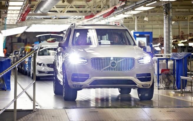 Υπερωρίες στη Volvo για τη μεγάλη ζήτηση του XC 90 VOLVO11-656x410
