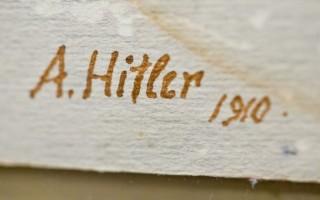Στο σφυρί σχέδια και ακουαρέλες του Αδόλφου Χίτλερ