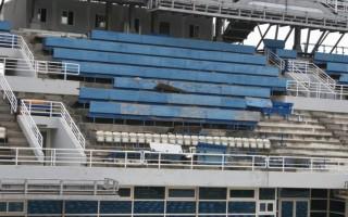 Εγκαταλειμμένο το Ολυμπιακό Κολυμβητήριο του ΟΑΚΑ