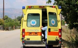 Άνδρας βρέθηκε αιμόφυρτος σε δρόμο της Κρήτης