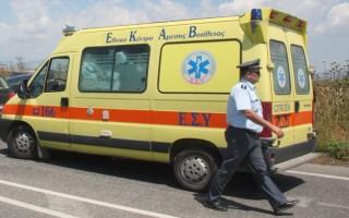 Λεωφορείο των ΚΤΕΛ με 14 επιβαίνοντες ανατράπηκε έξω από τη Δράμα