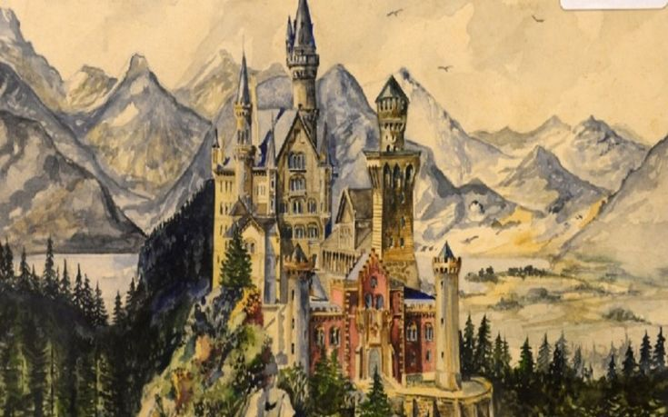 Αδόλφος Χίτλερ ζωγραφική