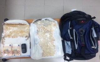 Συνελήφθη στο αεροδρόμιο με ηρωίνη 1,7 κιλών