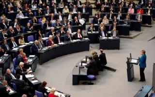 Με ισχυρή πλειοψηφία εγκρίθηκε από τη γερμανική Βουλή το δάνειο