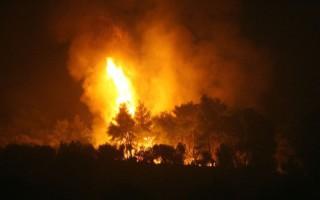 Πυρκαγιά στο Όρος Άπο