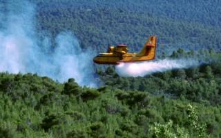 Αναγκαστική προσγείωση έκανε καναντέρ στη Λακωνία