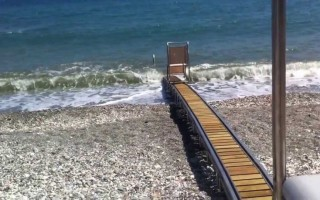 Πρόγραμμα για μηχανισμούς πρόσβασης ΑμεΑ σε παραλίες