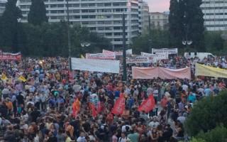 Συγκεντρώσεις υπέρ του «ναι» και του «όχι» την Παρασκευή στην Αθήνα