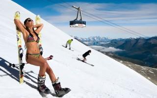 Τέσσερις πίστες για… καλοκαιρινό σκι σε παγετώνες