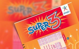 Οι σημερινές κληρώσεις του SUPER 3