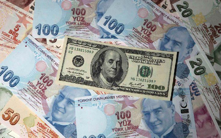 Bloomberg: Η πτώση της τουρκικής λίρας επηρεάζει το ευρώ