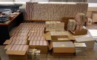 Θεσσαλονίκη: Αθώοι οι κατηγορούμενοι για την εξαφάνιση κατασχεμένων τσιγάρων