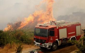 Μπαράζ πυρκαγιών στην Κρήτη