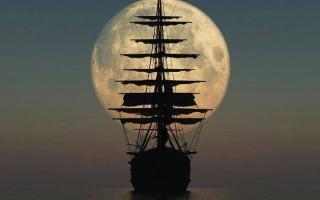 Πλοία στο... φεγγάρι