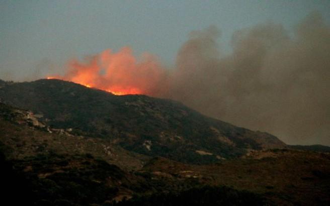 Νέα πυρκαγιά στη Ζάκυνθο