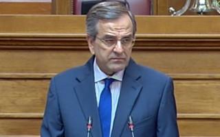 Σαμαράς: Πού να βρεθεί ντροπή στο ΣΥΡΙΖΑ