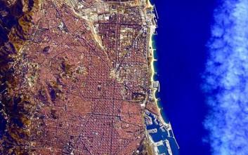 Αστροναύτης καταγράφει τη Γη από ψηλά