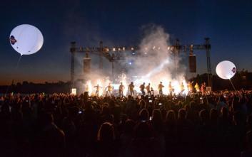 Μεγάλη καλοκαιρινή συναυλία ξεσήκωσε τα πλήθη