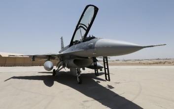Βελγικό F-16 καταστράφηκε ολοσχερώς από έκρηξη
