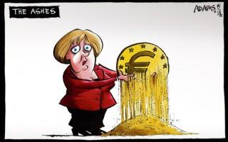 Το ευρώ διαλύεται στα χέρια της Μέρκελ