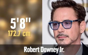 Δεκαπέντε διάσημοι που είναι πιο κοντοί απ' όσο νομίζεις