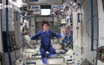 Ο ύπνος σε ένα διαστημικό σταθμό