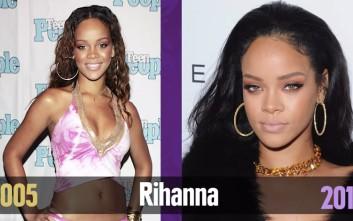 Πόσο έχουν αλλάξει οι pop stars