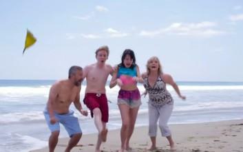 Πώς είναι μια μέρα στην παραλία με την οικογένεια