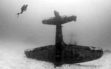 Ο υγρός τάφος μαχητικών αεροσκαφών του Β' Παγκοσμίου Πολέμου