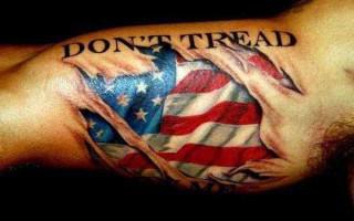 Τα tattoo των πωρωμένων Αμερικάνων
