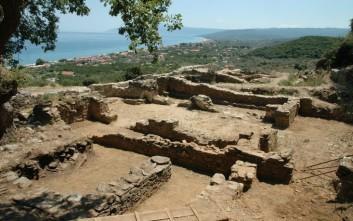 Αποκαλύφθηκαν για πρώτη φορά τα βόρεια προσκτίσματα του ναού του κάστρου Βελίκας