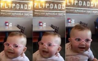 Η αντίδραση του μωρού που βλέπει για πρώτη φορά τους γονείς του!