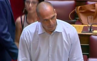 «Όχι» ψήφισε ο Γιάνης Βαρουφάκης