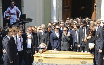 Το τελευταίο «αντίο» στον Ζιλ Μπιανκί