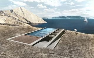 Πώς γεννήθηκε η ιδέα για την ξεχωριστή δημιουργία του «σπιτιού στο βράχο»