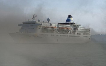 Κρουαζιερόπλοιο εμβόλισε σκάφος του Λιμενικού στη Χίο