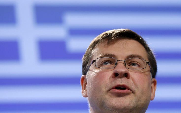 Ντομπρόβσκις: Η Ελλάδα φτάνει στο τέλος ενός μεγάλου ταξιδιού