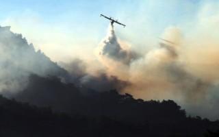 Σε εξέλιξη φωτιά στη νότια Λακωνία