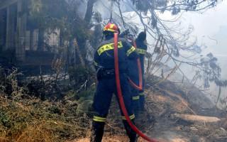 Στις φλόγες περιοχή στην Κίσσαμο
