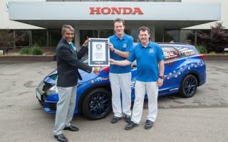Ρεκόρ Γκίνες χαμηλότερης κατανάλωσης για το Honda Civic Tourer