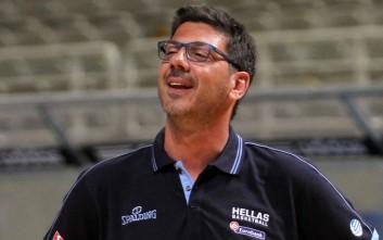 Επιστροφή της Εθνικής στα μετάλλια θέλει ο Κατσικάρης