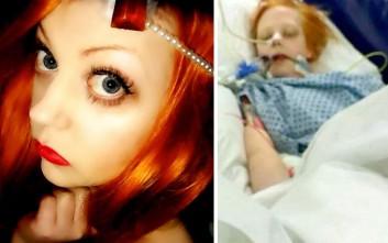 Ανέβασε στο διαδίκτυο τις σπαρακτικές φωτογραφίες της κόρης της πριν ξεψυχήσει