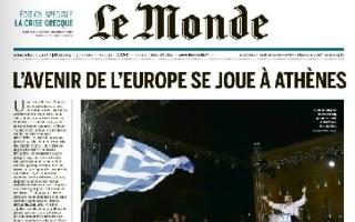 Le Monde: Το μέλλον της Ευρώπης παίζεται στην Αθήνα