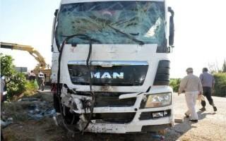 Τροχαίο δυστύχημα με 15 νεκρούς στην Τουρκία