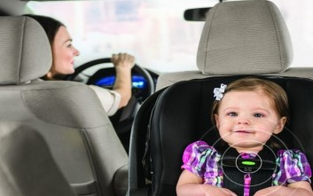 Δείτε το παιδικό κάθισμα αυτοκινήτου που σώζει ζωές