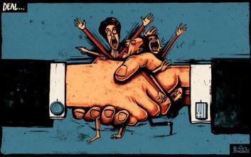 Συγκλονιστικά σκίτσα και πρωτοσέλιδα για την Ελλάδα που ταρακούνησαν τον κόσμο