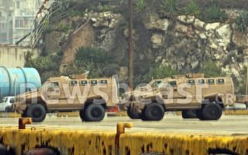 Στη «φάκα» τελωνειακών υπαλλήλων 16 τεθωρακισμένα οχήματα