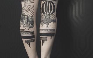 Τα ιδιαίτερα τατουάζ του Houston Patton